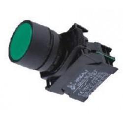 Button Φ22 Green - Plastic type - SDL16-EA31 - Xindali