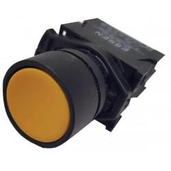 Button Φ22 Yellow - Plastic type - SDL16-EA51 - Xindali