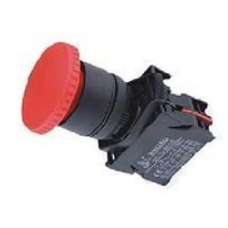 Button mushroom / ΅With reset - Φ40 Red - Plastic type - SDL16-EC42 - Xindali