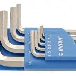 Keys set - ALLEN - 1,5-10/9 607852 - UNIOR