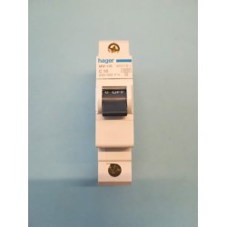 Automatic fuse - C10A / 3KA - MW110 - hager