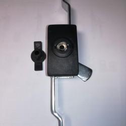 Κλειδαριά μεταλλική μάυρη PA6 (59X33.5MM) - 210-11-10-10 - OSKAR