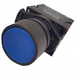 Button Φ22 Blue - Plastic type - SDL16-EA61 - Xindali