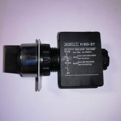 Επιλογικός διακόπτης Φ22  3θέσεων(Ι -0 - ΙΙ) - AGUT