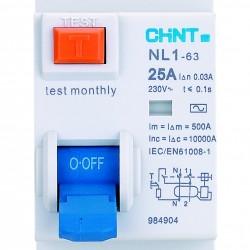 Μονοφασικό Ρελέ Διαροής NL1-B6A240